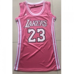 Women Basketball Jersey Dress Letter Print Casual Dresses